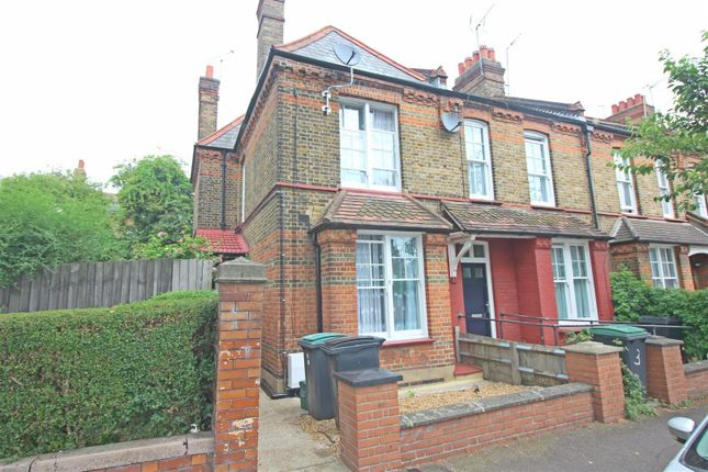 Thumbnail End terrace house for sale in Morley Avenue, London