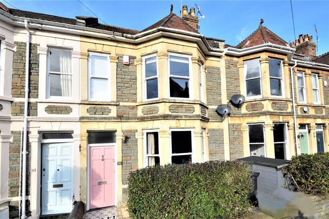 Thumbnail Terraced house for sale in Howard Road, Westbury Park, Bristol