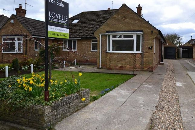 Thumbnail Bungalow for sale in Mayland Drive, Cottingham, East Riding Of Yorkshire