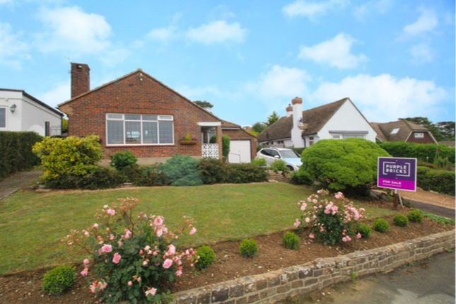 Thumbnail Detached bungalow for sale in Oakwood Close, Hastings