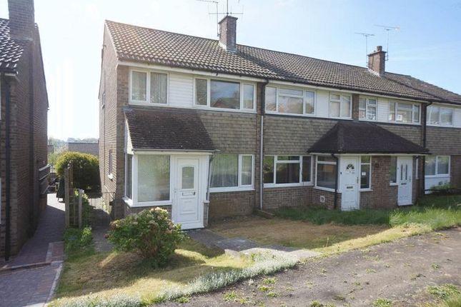 Thumbnail End terrace house to rent in Croft Gardens, Alton