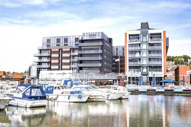 Thumbnail Flat to rent in One The Brayford, Brayford Wharf North