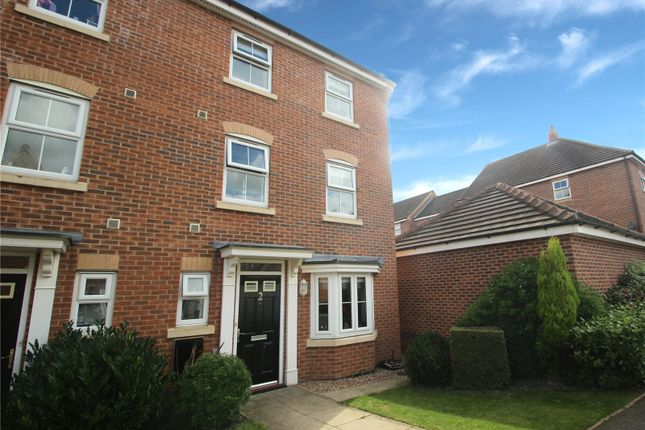 Thumbnail Town house for sale in Ebberton Close, Hemsworth, West Yorkshire