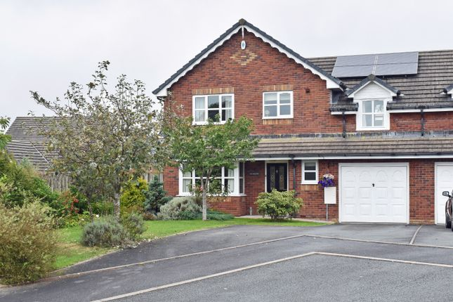 Thumbnail Semi-detached house for sale in Howey, Llandrindod Wells