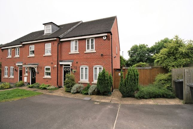 Thumbnail End terrace house for sale in Church View Drive, Old Tupton, Chesterfield