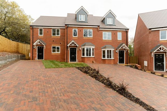 Thumbnail Terraced house for sale in Marton Close, Redditch