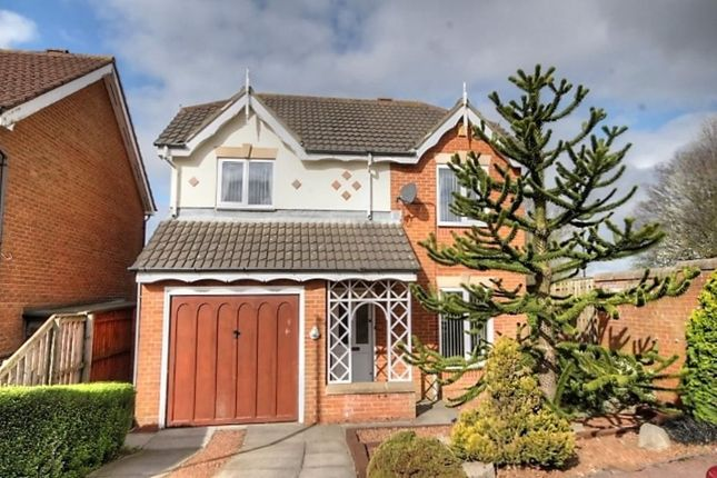 Thumbnail Detached house for sale in Thirlington Close, Windsor Gardens, Newcastle Upon Tyne