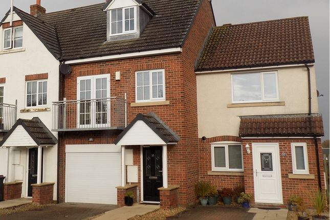 Thumbnail Town house for sale in Whitfell Avenue, Carlisle
