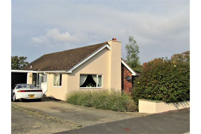 Thumbnail Detached bungalow for sale in The Roundway, Newton Abbot