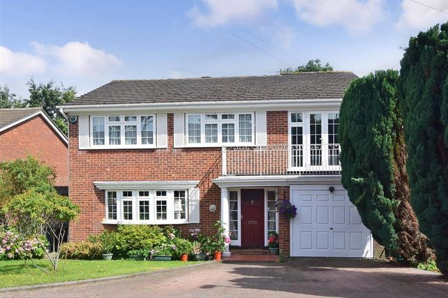 Thumbnail 5 bed detached house for sale in Ferns Close, South Croydon, Surrey