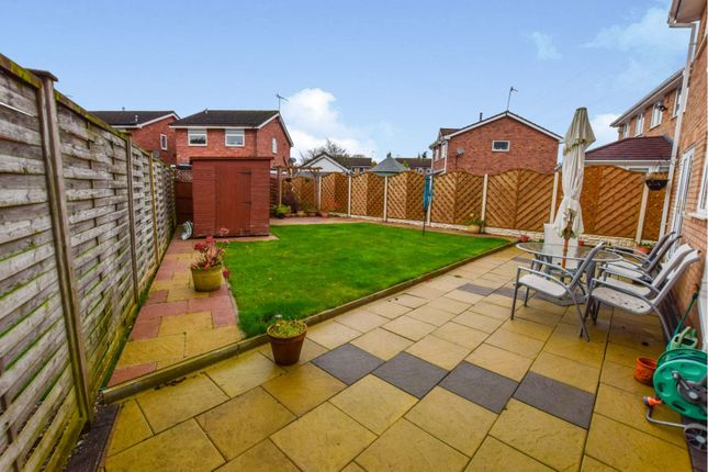 Rear Garden of Burrington Drive, Trentham, Stoke-On-Trent ST4