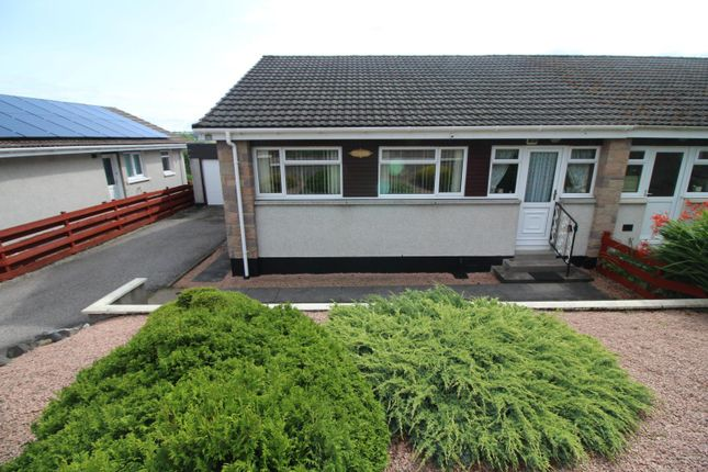 Thumbnail Semi-detached bungalow for sale in Stuarthill Drive, Maryburgh