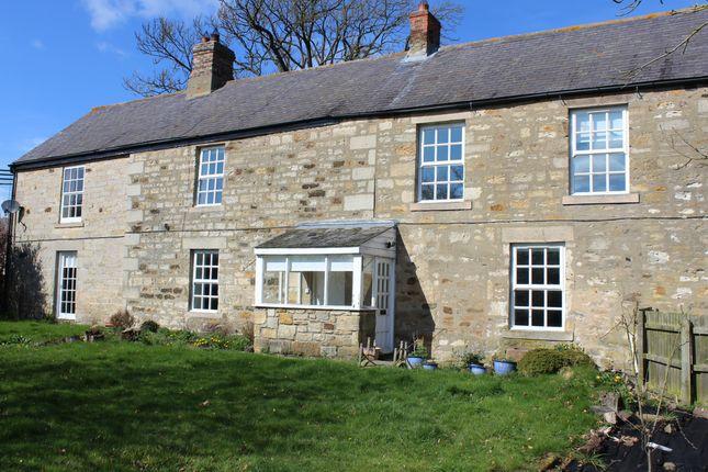 Thumbnail Farmhouse to rent in Newton Farm, Mitford, Morpeth, Northumberland
