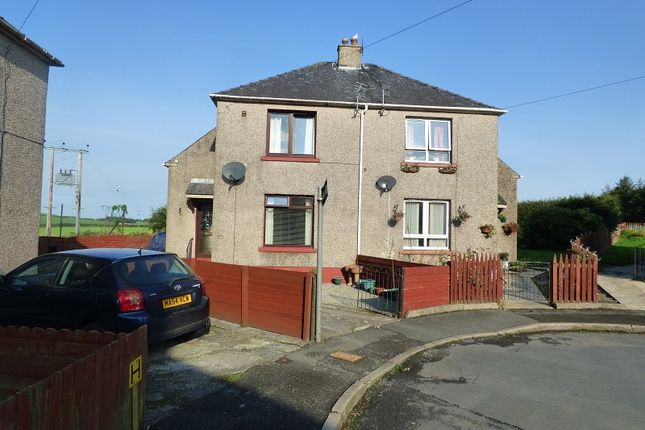 Thumbnail End terrace house for sale in Randolph Crescent, Garlieston