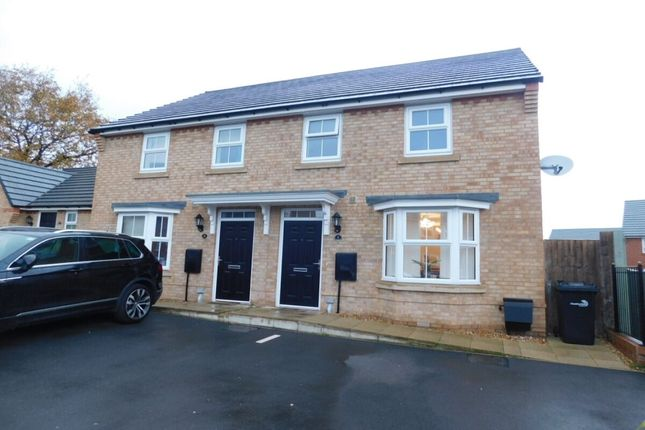 Thumbnail Semi-detached house for sale in Parn Close, Crewe