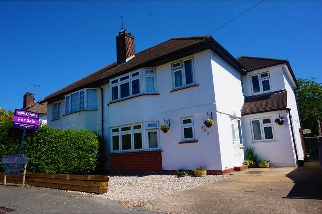 Thumbnail Semi-detached house for sale in Ongar Road, Brentwood