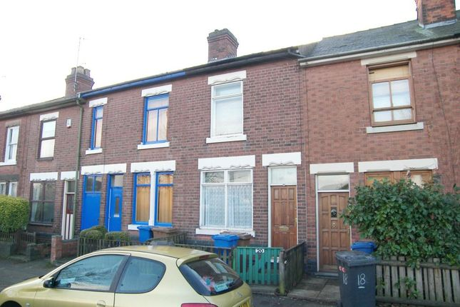 Thumbnail 2 bed terraced house to rent in Vivian Street, Derby