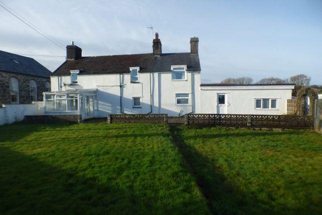 Thumbnail Detached house for sale in Abererch, Pwllheli, Gwynedd