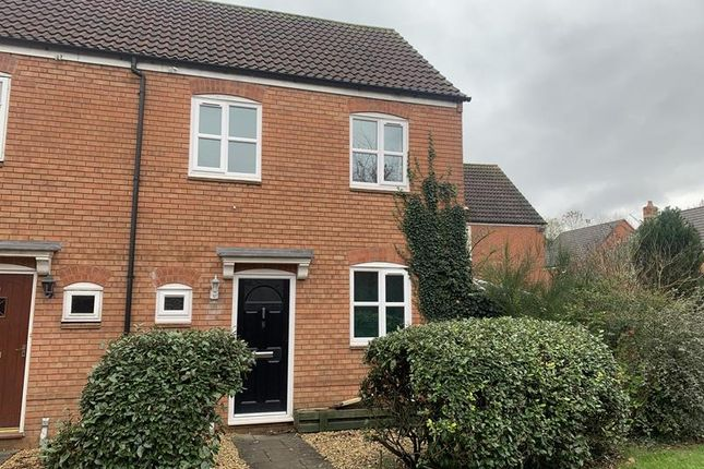 Thumbnail End terrace house to rent in 8 Lady Somerset Drive, Ledbury, Herefordshire