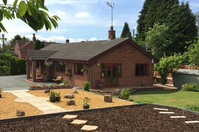 Thumbnail Detached house for sale in Tadgedale, Mucklestone Road, Loggerheads, Market Drayton