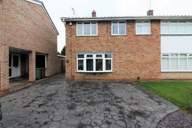 Thumbnail Semi-detached house for sale in Treetops Drive, Willenhall