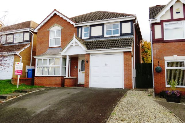 Thumbnail Detached house for sale in Harwood Drive, Kettering