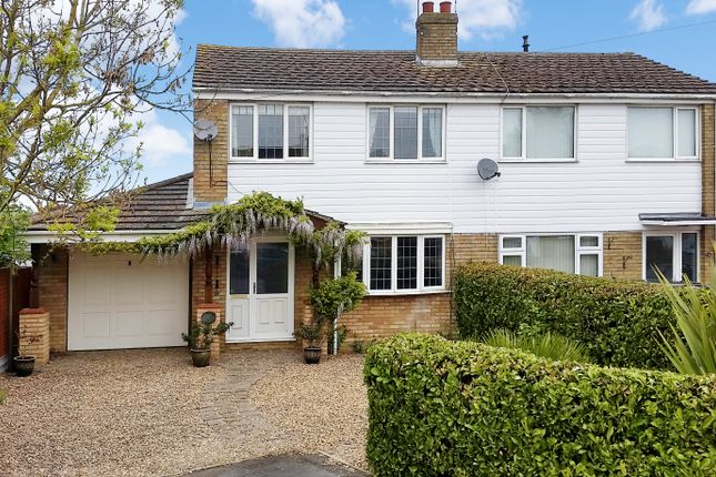 Thumbnail Semi-detached house for sale in Abbey Close, Bozeat, Northamptonshire