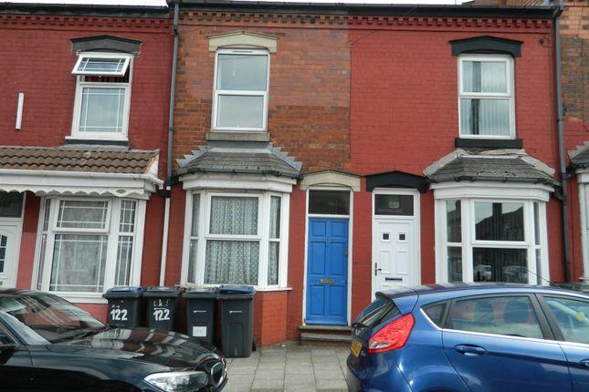 Thumbnail Terraced house to rent in Reginald Road, Alum Rock, Birmingham