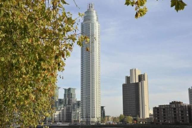 Thumbnail Flat for sale in One St George Wharf, Nine Elms, London