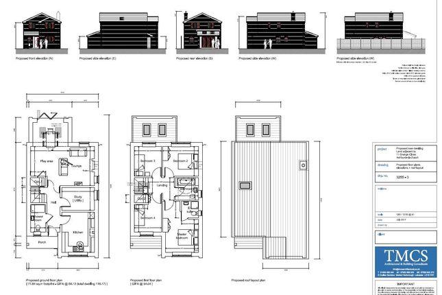 Thumbnail Land for sale in Grange Close, Ashby-De-La-Zouch
