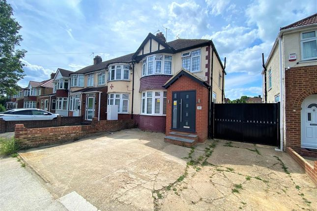 3 bed end terrace house for sale in Stormount Drive, Hayes UB3