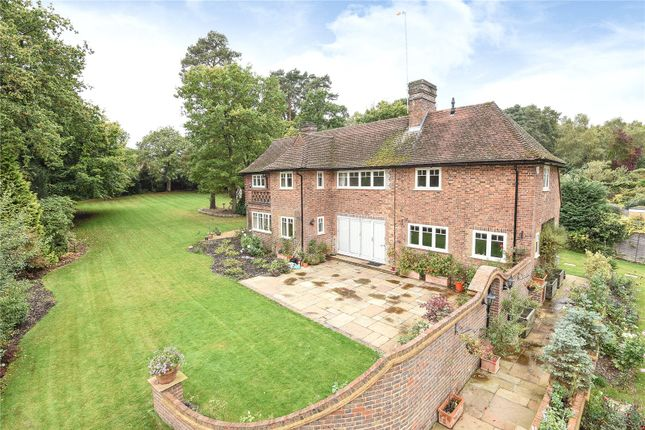 Thumbnail Detached house for sale in Robin Lane, Sandhurst, Berkshire