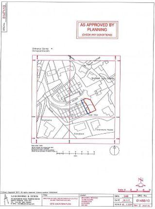 Plans 1 of Little Silver, Tiverton EX16