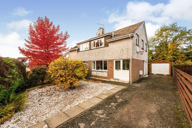 Thumbnail Semi-detached house for sale in Hume Crescent, Bridge Of Allan, Stirling