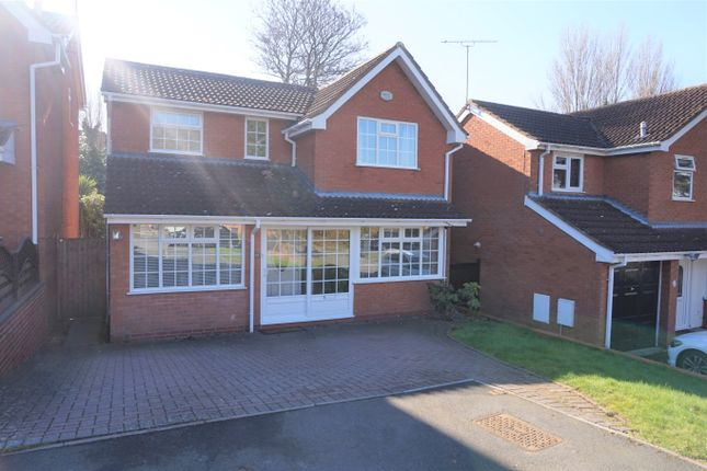 Thumbnail Detached house for sale in Hallot Close, New Oscott, Birmingham