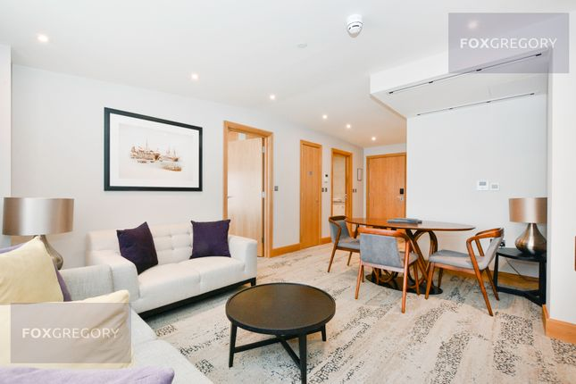 Thumbnail Flat to rent in Belsize Road, South Hampstead, Camden