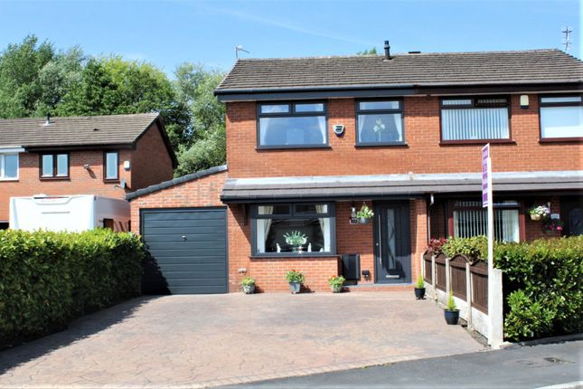 Thumbnail Semi-detached house for sale in Redwood, Chadderton, Oldham
