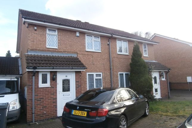Thumbnail Semi-detached house to rent in Larchfield Close, Handsworth Wood, Birmingham