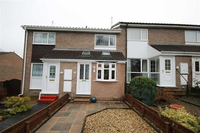 Thumbnail Terraced house for sale in Heather Lane, Crook, Co Durham