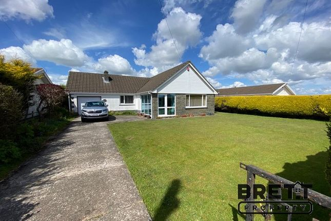 Thumbnail Detached bungalow for sale in Neyland Road, Steynton, Milford Haven, Pembrokeshire.