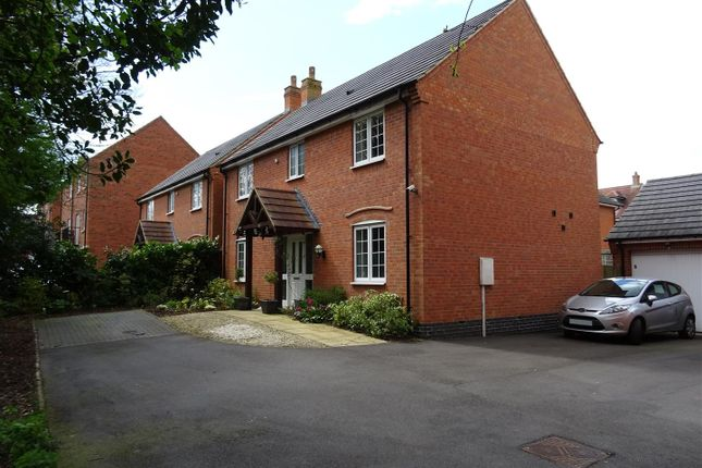 Thumbnail Detached house for sale in Discovery Close, Coalville, Leicestershire