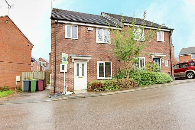 Thumbnail Semi-detached house to rent in Wylam Close, Clay Cross, Chesterfield, Derbyshire