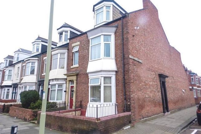 Thumbnail Flat for sale in Stanhope Road, South Shields
