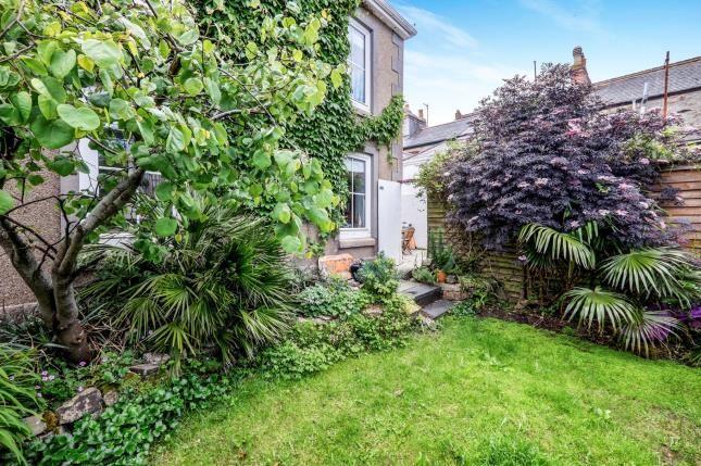 Side Garden of Penzance, Cornwall TR18