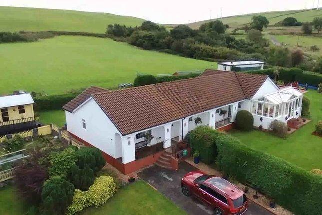 Thumbnail Detached bungalow for sale in Ty Newydd Farm, Blackmill, Bridgend, Bridgend County.