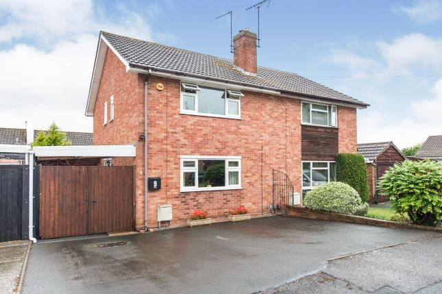 Thumbnail Semi-detached house for sale in Dunster Grove, Cheltenham, Gloucestershire