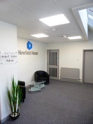 Reception of Newfield House, High Street, Newfield Industrial Estate, Sandyford, Stoke On Trent ST6