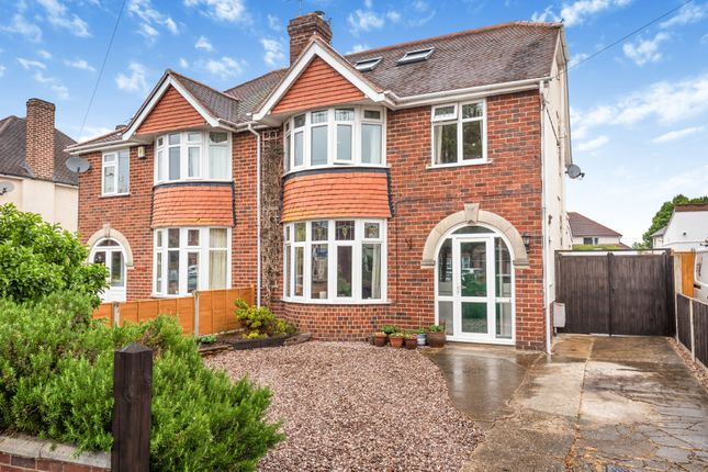Thumbnail Semi-detached house for sale in Merevale Road, Longlevens