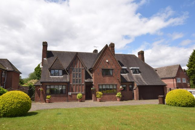 Thumbnail Detached house for sale in Beechnut Lane, Solihull, West Midlands