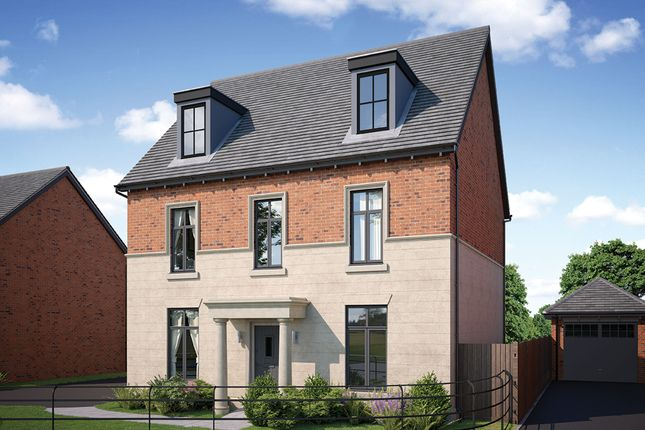 Thumbnail Detached house for sale in Alderley Park, Nether Alderley